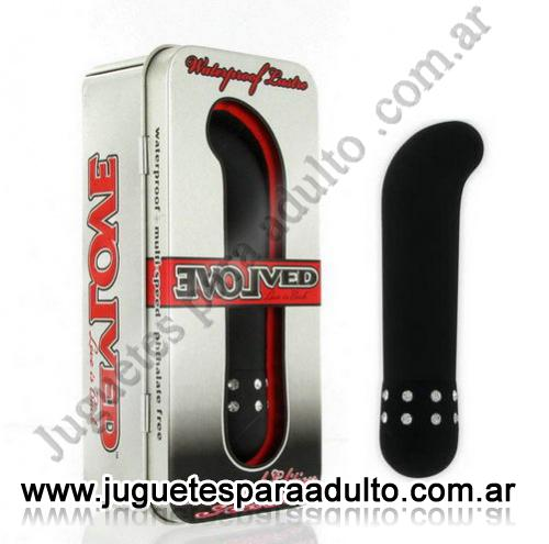 , , Evolved Diamond Negro Con Brillantes Curvo