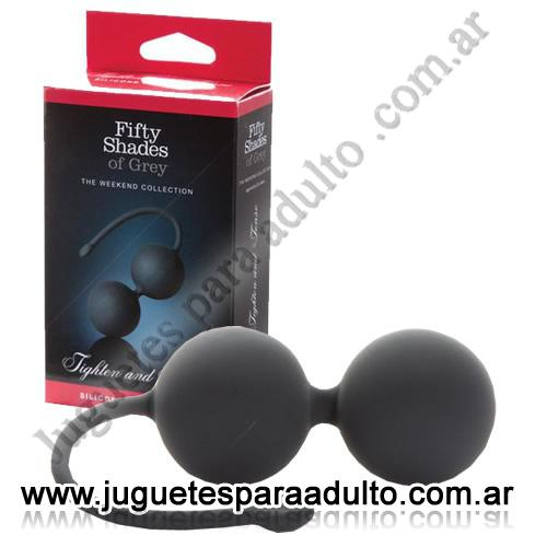 , , Fifty Shades of Grey Silicone Jinggle Balls