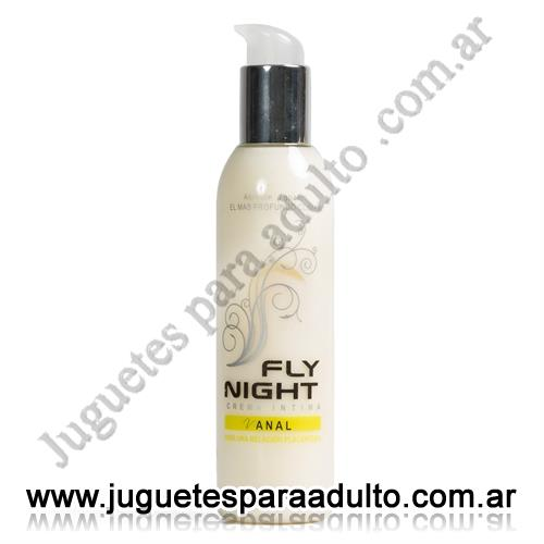 Aceites y lubricantes, Fly Night, Crema anal 200cc Fly Night
