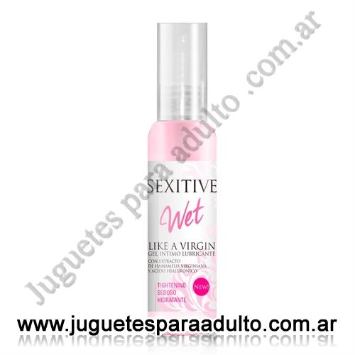 Aceites y lubricantes, Lubricantes sexitive, Gel Intimo Like a Virgin 75 ml
