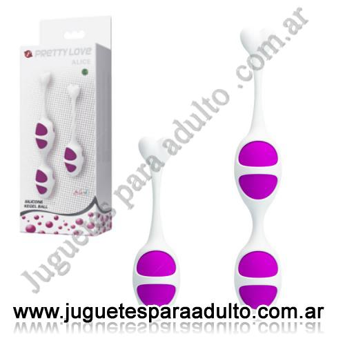 Marcas Importadas, Pretty Love, kit de Kegel ball o bolitas chinas doble y simple